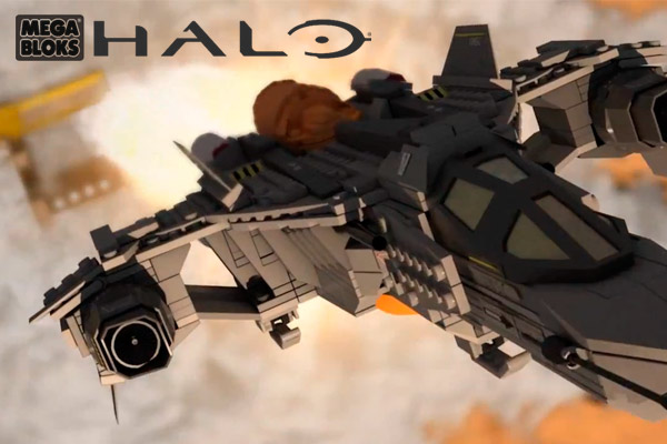 Halo Megablocks TV Commercial